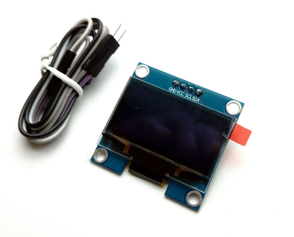 1 3 inch OLED LCD Display 128x64 I2C Interface Module for General Micro  Controller Display