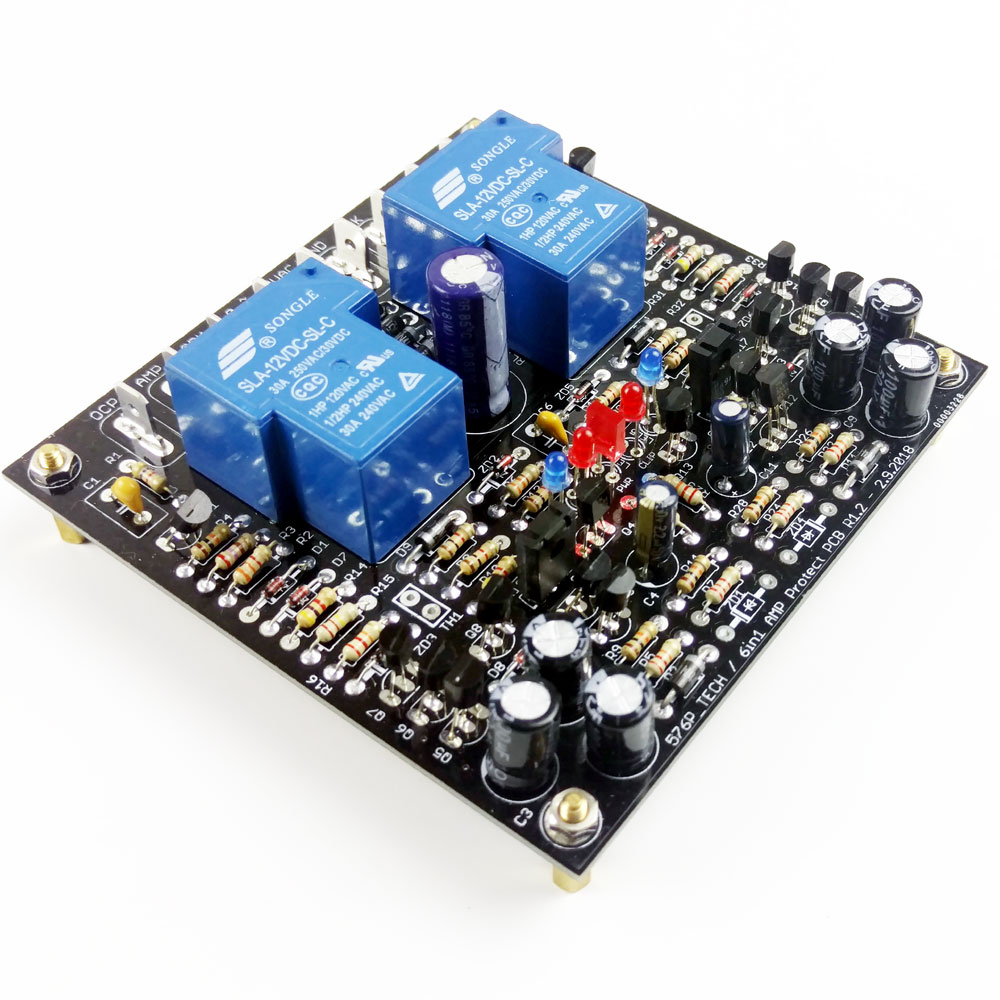 Diy Speaker Protector With Delay Over Current Protection Module Build Electronic Circuits Online 6in1 1diy Store