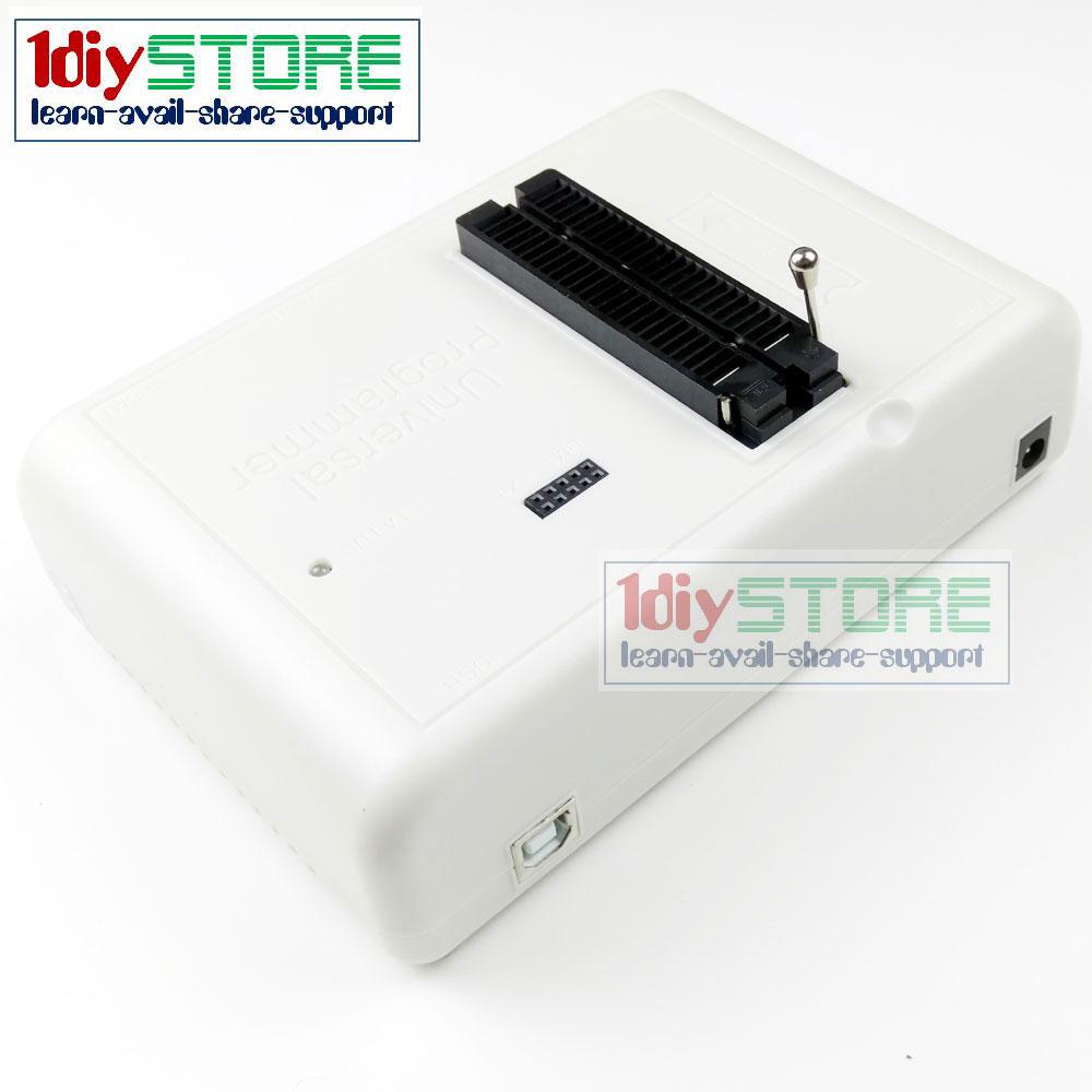 RT809H Truly Universal Programmer eMMC-Nand FLASH 48 ZIF Socket Intelligent  Programmer VGA + HDMI + ISP + USB Interfaces